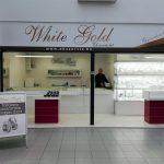 White Gold portál dekoráció