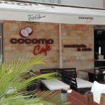 Cocomo Cafe plasztikus felirat