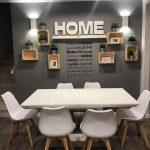Home plasztikus felirat