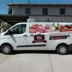 Rapali Hús járműreklám
