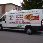 Vajda Hús járműreklám