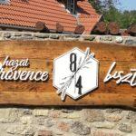 Hazai Provence plasztikus betű