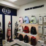 SEBO plasztikus betű dekoráció reklám