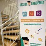rollup reklám dekoráció design akadémia